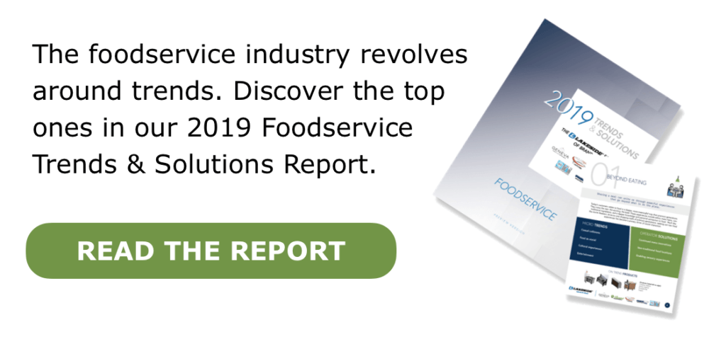 2019 Foodservice Trends Report CTA