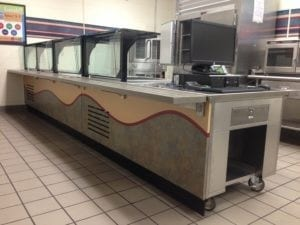 New Serving Line Installation