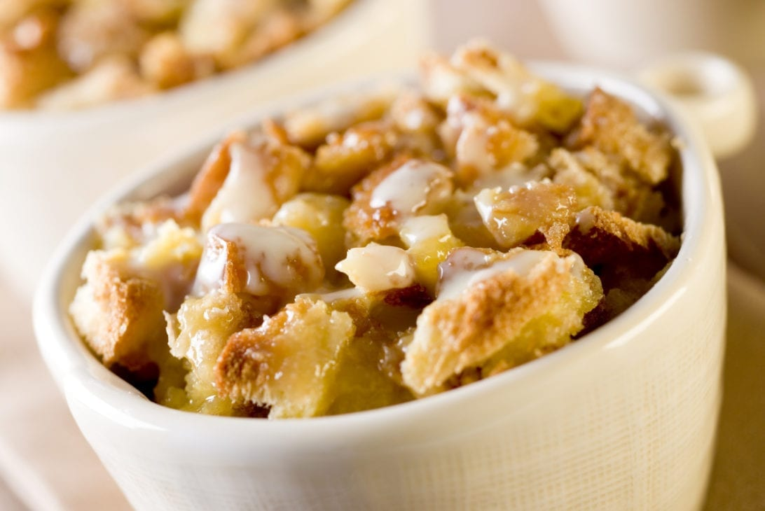 Non-Cook Bread Pudding By Accident