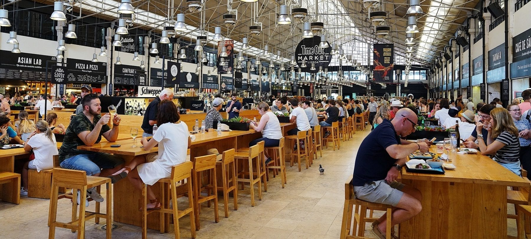 A Closer Look at the Food Hall Trend
