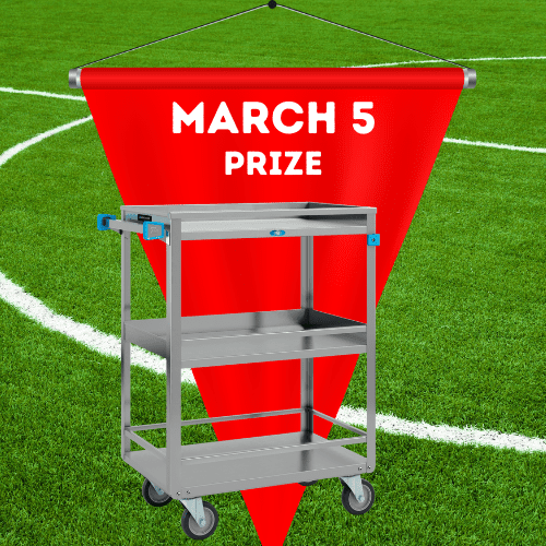 Lakeside Cleaning Cart Prize