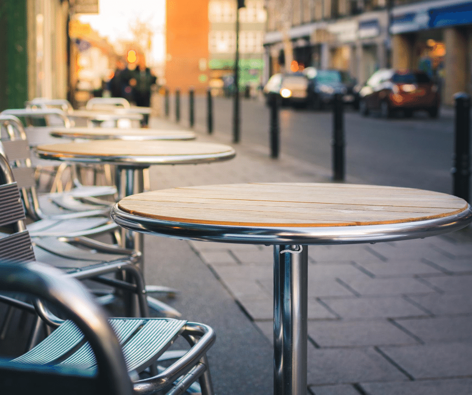 Improving Service in the Age of Street-Side Dining