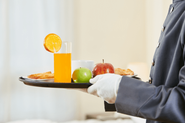 Did Someone Order Delivery? In-Room Service Gains Traction