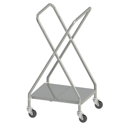 High Volume PPE Hamper Stand