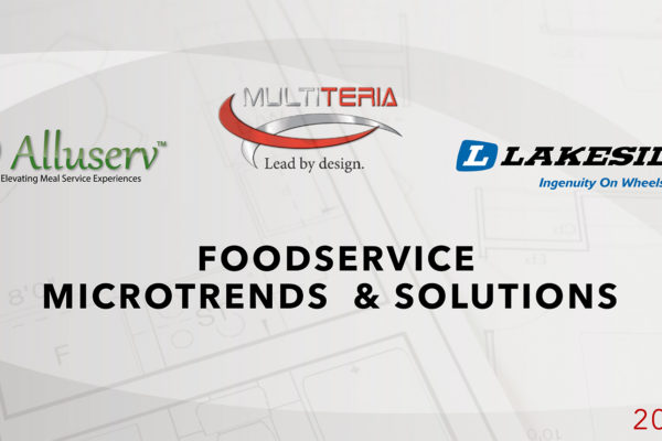 Webinar: Food and Foodservice Trends and Solutions